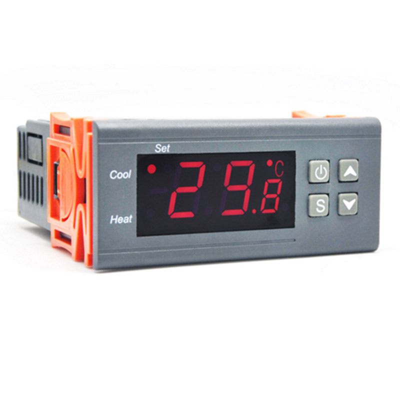 RC-316M 230V10A C Sərt İstilik Brooding Yığım tənzimləyicisi Rəqəmsal Termostat Temperatur Kontrolörü İnkubator Laboratoriyası üçün