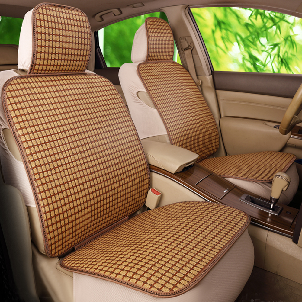 Outstanding Us 87 21 28 Off Glcc 2017 New Design Car Bamboo Seat Cover Set Universal Fit 5 Seats Summer Cool Auto Covers Interior Accessories Coffee Color In Squirreltailoven Fun Painted Chair Ideas Images Squirreltailovenorg