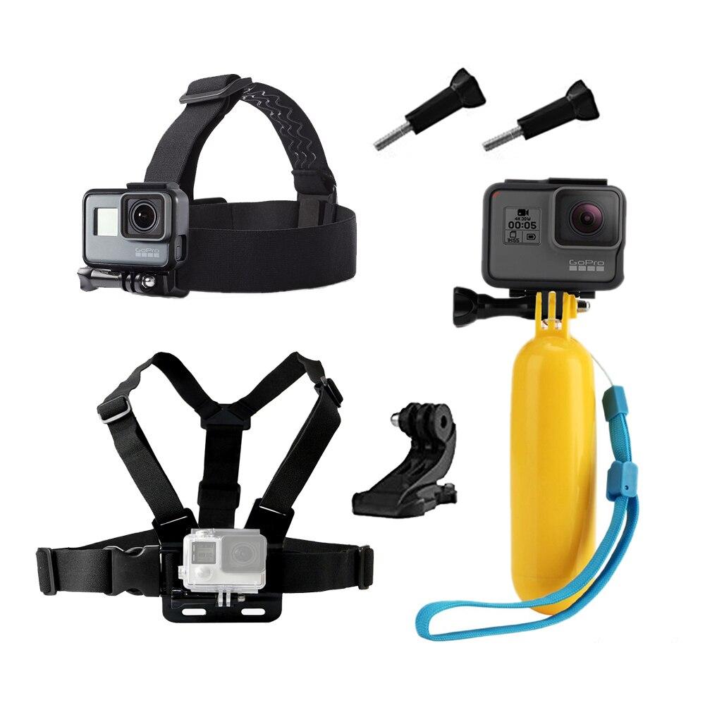 Accesorios para GoPro Hero 5 6 pecho para xiaomi Yi 4 K para eken H9 Correa sjcam sj4000 para GO pro Hero 5 acción Cámara