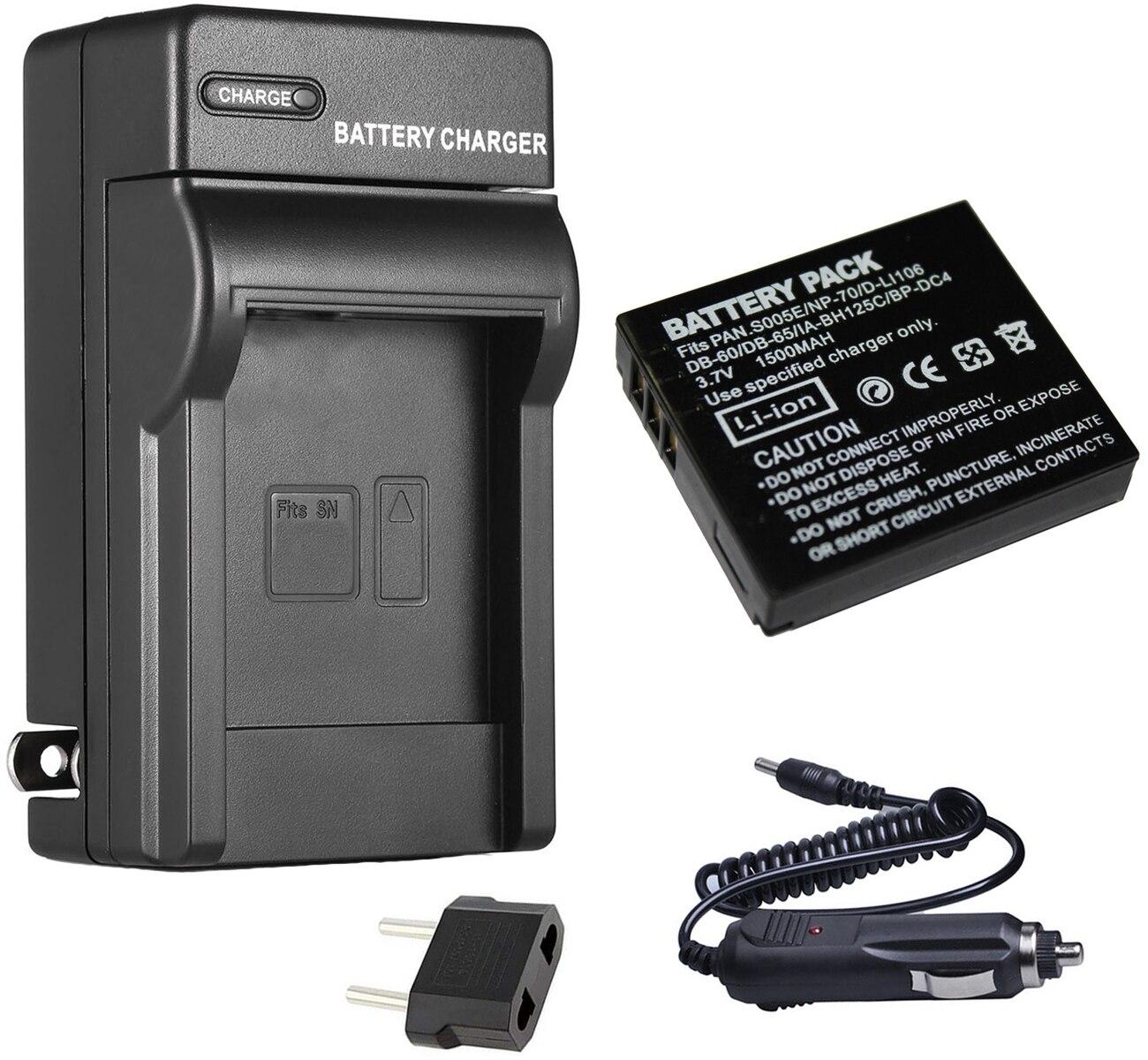 Batería compatible con Ricoh db-100//lb-050