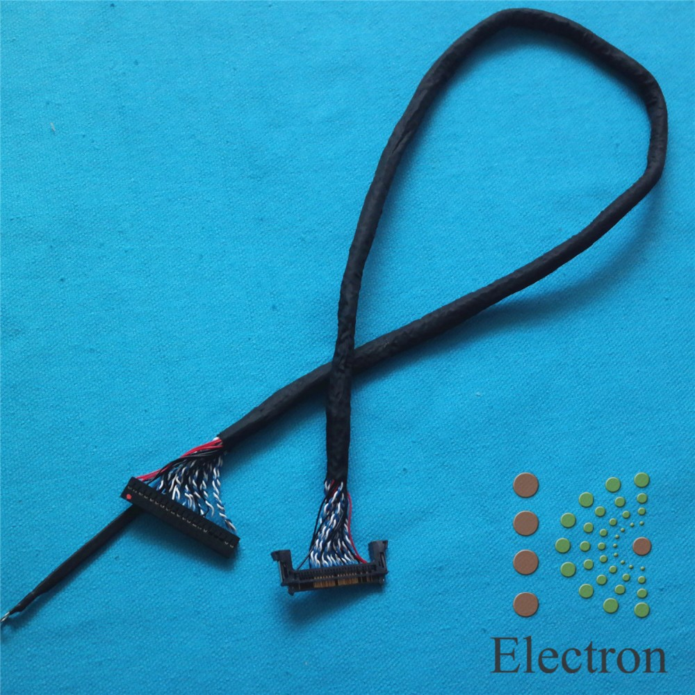 FI-RE51S-HF LVDS Cable 51Pin Double 10bit 56cm for LG Large Size LCD TV Monitor