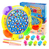 Children S Classical Fishing Toys Set Electric Rotary Music Fishing Set Baby Puzzle Toys Electric Rotating