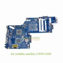 laptop motherboard for Toshiba Satellite C850 L850 H000051550 rPGA988B HM76 DDR3 ATI HD7670M 1GB works