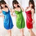 Sexy Women's Lingerie Night Gown Babydoll Dress Smock Sleepwear Robe + G-String