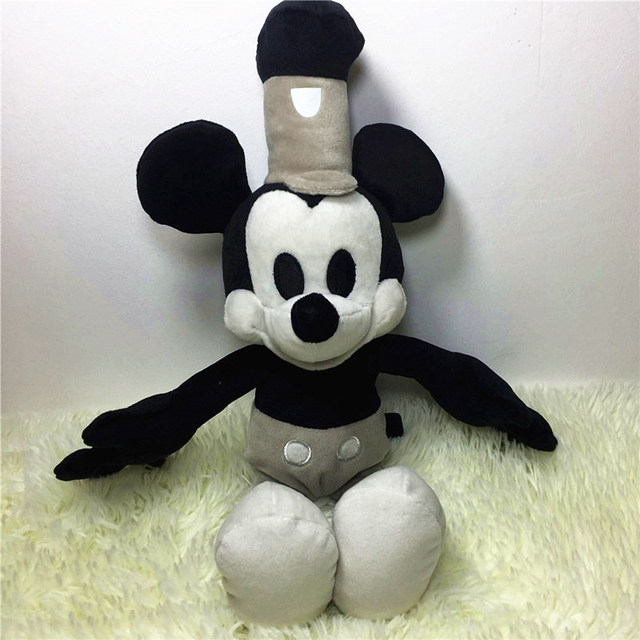 New 1pcs Plush Edition Steamboat Willie Restoring Ancient Ways