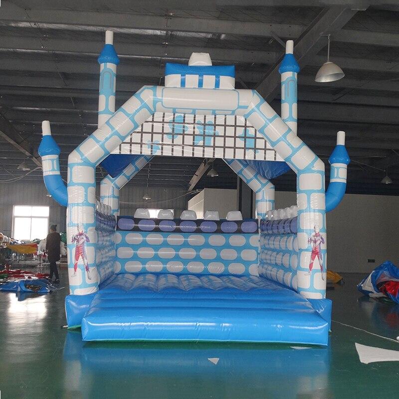 Fábrica personalizado PVC casa do salto inflável para venda castelo para as crianças e adultos