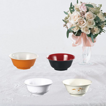 Free shipping. A5 Melamine tableware. bowl. This paragraph is lotus flower melamine products.