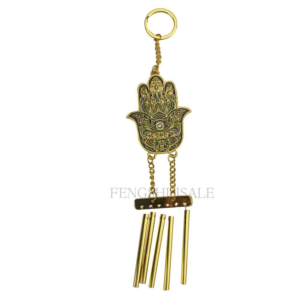 Fengshui Hamsa Hand Windchimes W Free Fengshuisale Red String Bracelet W3211