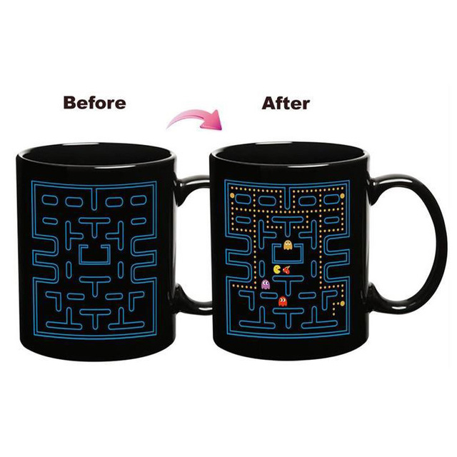 Pac-Man Coffee Mug