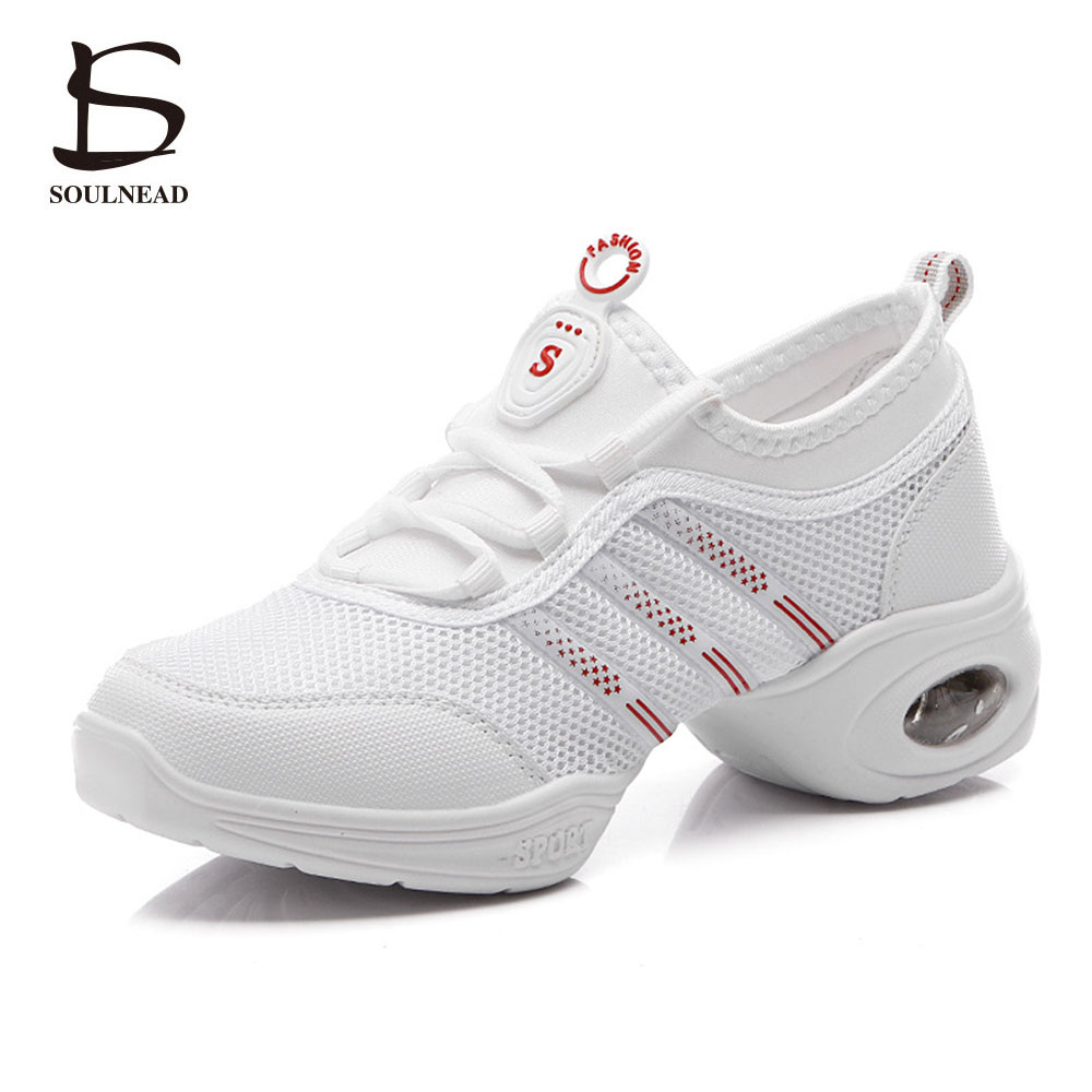 New 2017 Women Dance Shoes Jazz Hip Hop Shoes Salsa Sneakers For Woman Modern Platform Dancing Ladies Shoes Footwear For Women genuine leather dance shoes women jazz hip hop shoes latin salsa sneakers for woman dance shoes size 35 36 37 38 39 40