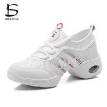 Nuevo 2017 mujeres zapatos de baile de Jazz Hip Hop zapatos Salsa zapatillas  de deporte para mujer moderna plataforma de baile z. 37990693a69