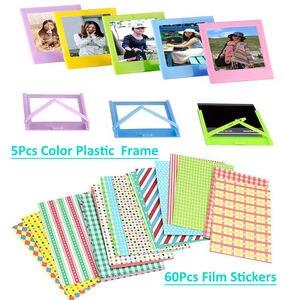 Image 4 - Fujifilm Instax Mini 9 8 7s Camera Accessories Magnetic Photo Frame Wall Hang Frames Film Frames Corner Stickers Mark Pen Bundle