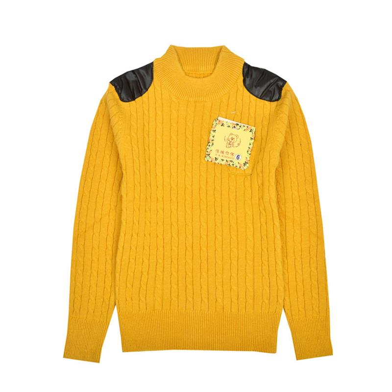 NºNiños ropa Niños Suéteres caliente cuello alto suéter ropa para ...