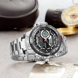 Image 5 - Top Luxury ยี่ห้อ MIZUMS ผู้ชายกันน้ำดิจิตอลกีฬานาฬิกา Mens นาฬิกานาฬิกาข้อมือชายนาฬิกาควอตซ์ Relogio Masculino XFCS