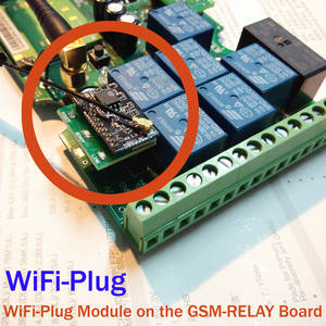 Plug-Module GSM-RELAY Wifi-Controller Remote-Switch-Change for To
