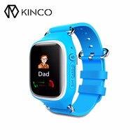KINCO 3 Renk GSM Dokunmatik Ekran Çocuk Akıllı Izle Bulucu Bluetooth Anti Kayıp Adım Tracker Destek IOS Android için Çağrı Parça SOS