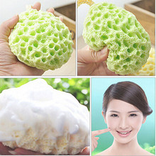 Facial Makeup Cleanning Sponge Bath Ball Exfoliating Beauty