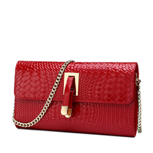 2016 autumn fashion chain new women's single shoulder bag/PU Leather women crossbody Bag/luxury handbags women bags designer