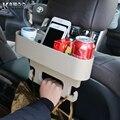 KAWOO Universal Auto Veículo Assento Gap/back seat Organizador Prateleiras Suporte de Copo Caneca de Bebida Titular Do Telefone Do Carro 26*7.5*19.5 CM
