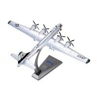 1:144ボーイングb-29戦略的爆撃機航空機モデル合金シミュレーションモデルアメリカのb-29モデル航空機軍usaf