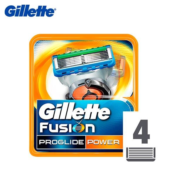 Сменные картриджи для Gillette ProGlide power, 4 шт