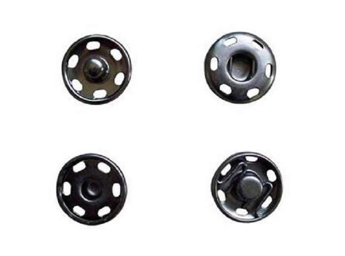 Botones a presión 12/14/16mm sujetadores primavera prensa perno a prueba de rustproof para caja de regalo hecha a mano álbum de recortes artesanía DIY accesorios de costura Wh 2