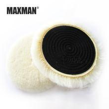 Maxman 5 дюймов абразивы шерсть мяч полировальная пластина полировка
