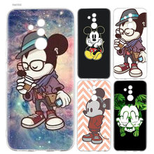 Mickey Mouse Case For Huawei Honor 9 10 lite 7S 8C 8X 9i 9E 7A Pro Silicone Cases sFor Huawei Enjoy 7S 7 8 9 Plus Cover Coque(China)