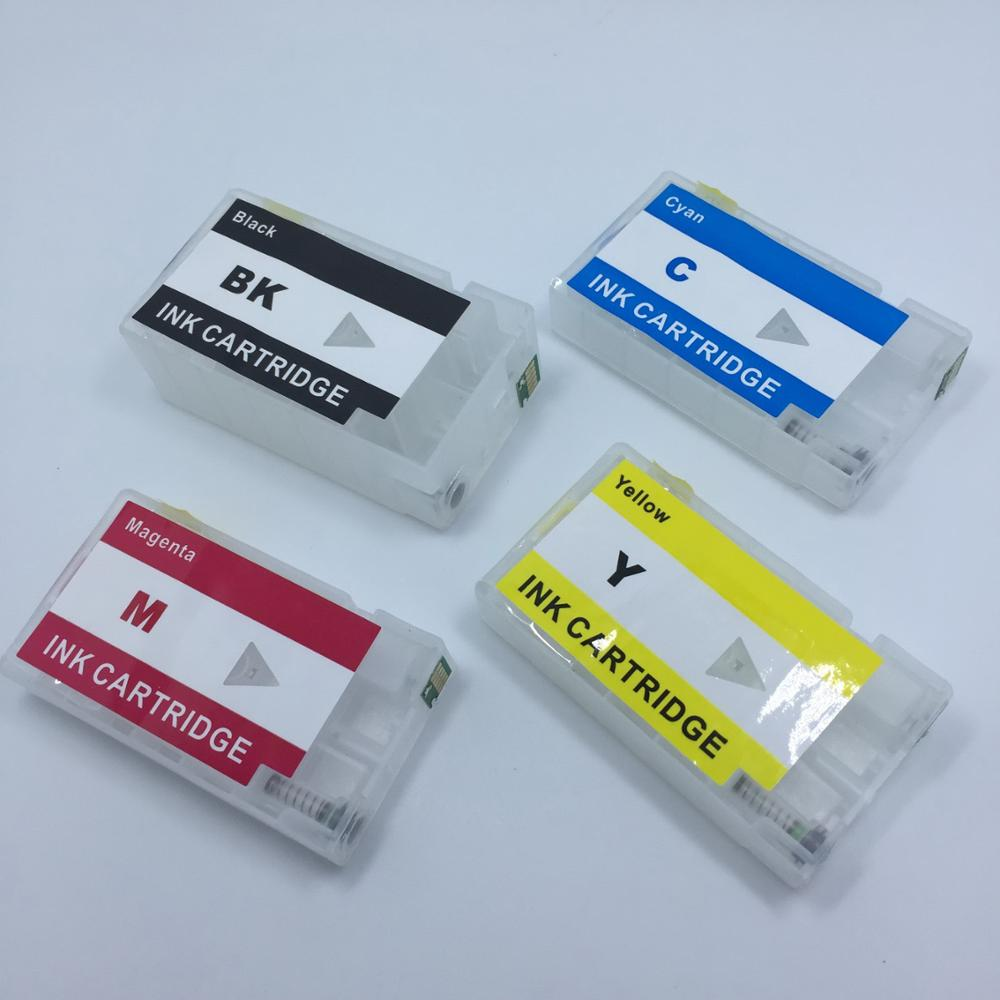 YOTAT 1set Refillable ink cartridge PGI-1400 PGI1400 For Canon MAXIFY MB2040 MB2340 MB2140 MB2740 printer