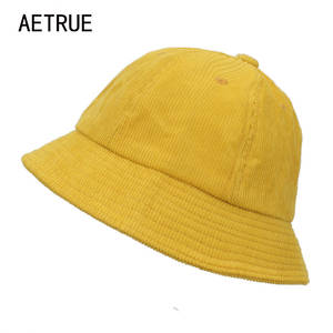 1823c4dda63 AETRUE Bucket Hats Men Panama Hats For Women Cotton Cap