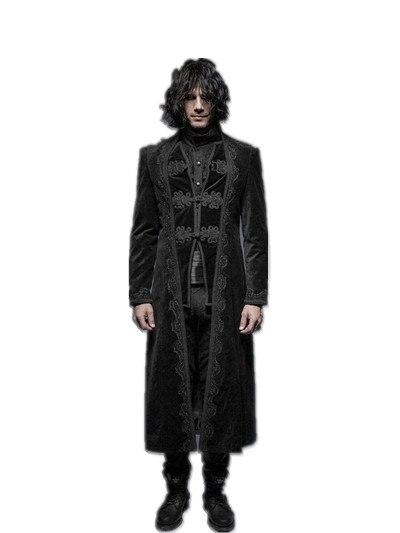 Cappotti Modello Manica Di Rock Lunga Punk Da Gothic Splendida Uomo SRptn