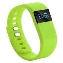 10Pcs/Lot DHL Free Ship TW64 Bluetooth Smart Wrist Band Bracelet Watch Health Pedometer 0.49″ OLED Lithium Battery Bluetooth 4.0