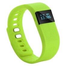 10Pcs/Lot DHL Free Ship TW64 Bluetooth Smart Wrist Band Bracelet Watch Health Pedometer 0.49″ OLED Lithium Battery Bluetooth 4.0