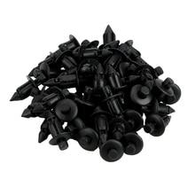 50 шт./компл. автомобильный фотопластиковый Фиксатор с заклепками, Автомобильный крепеж для Toyota Lexus 7 мм, отверстие, автостайлинг