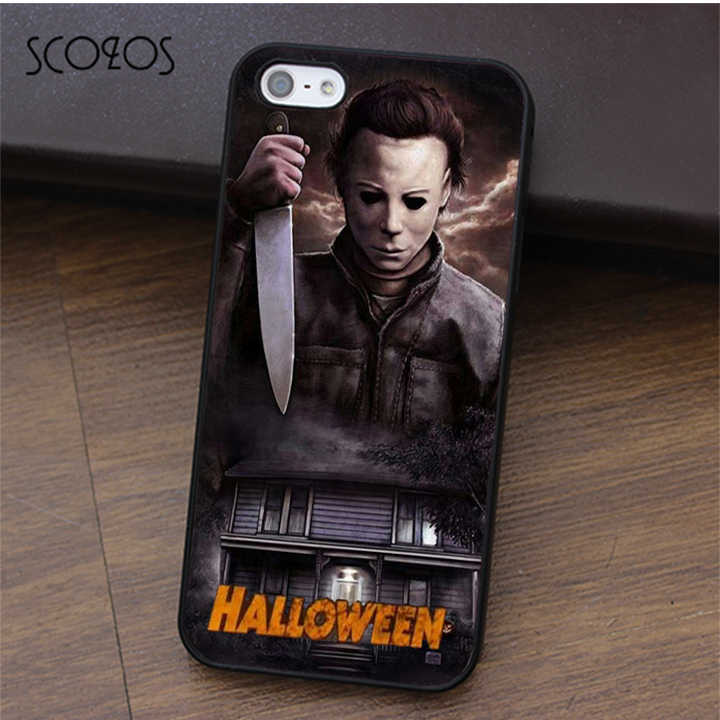SCOZOS Halloween Michael Myers 2 fashion phone case cover for ...