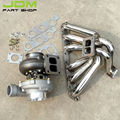 For Toyota Supra 1JZ VVTI JZ Turbo Exhaust Manifold+T4 Oil+Water AR80 Turbocharger