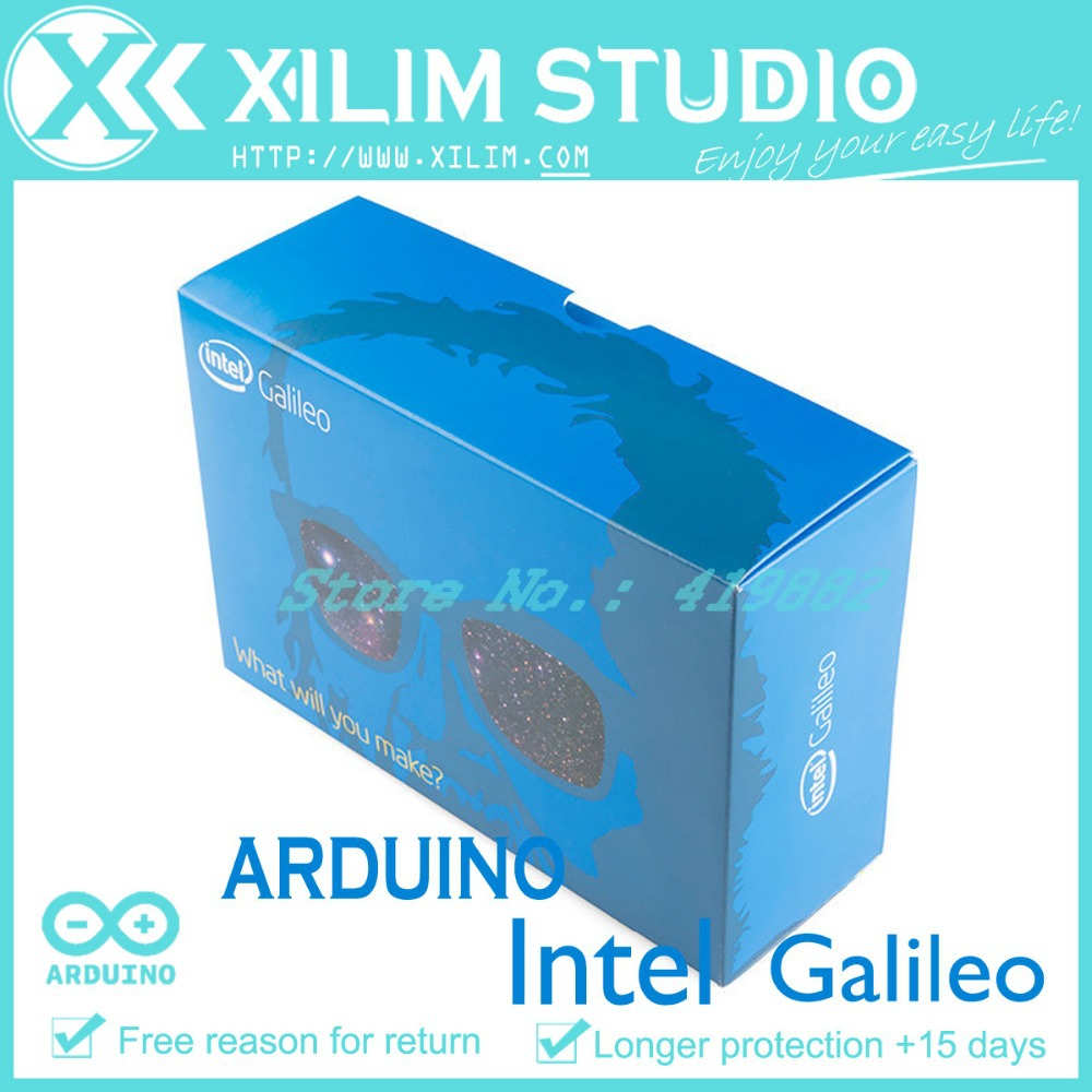 Original New Free Shipping Intel Galileo Board X86 Development Intelr Block Diagram For Arduino Based On The Quark Soc X100 In Other Electronic Components From