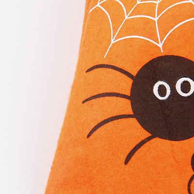 Halloween Pumpkin Trick or Treat Loot Partido Sentiu Sacos de Lona Dos Miúdos Criança Brinquedo Do Saco De Doces