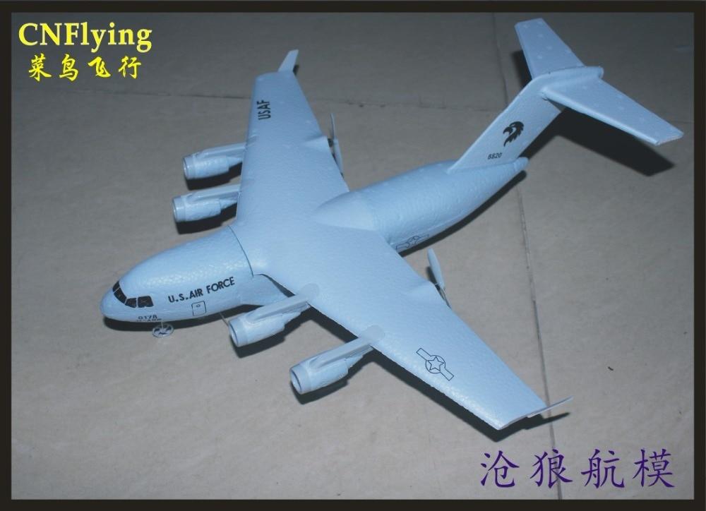 2CH C-17 c17 Transport 373mm Wingspan EPP DIY RC Airplane RC TOYS PLANE Brushed 2.4GHz Axis Gyro RTF TOYS PLANE