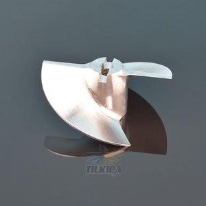Image 3 - Rc ジェットボート cnc 17 ミリメートル 22 ミリメートル 28 ミリメートル 36 ミリメートル 40 ミリメートル 50 ミリメートルプロペラ 2 ブレード小道具アルミ合金ネジ用ラジコンボートスラスタ