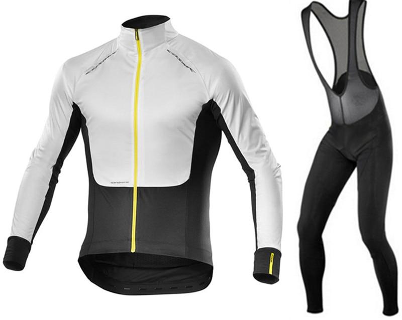 2019 Men's New Mavic Cycling Set Long Sleeves Cycling Jerseys Set Breathable Bike Clothes Cycle Wear Ropa Maillot Ciclismo