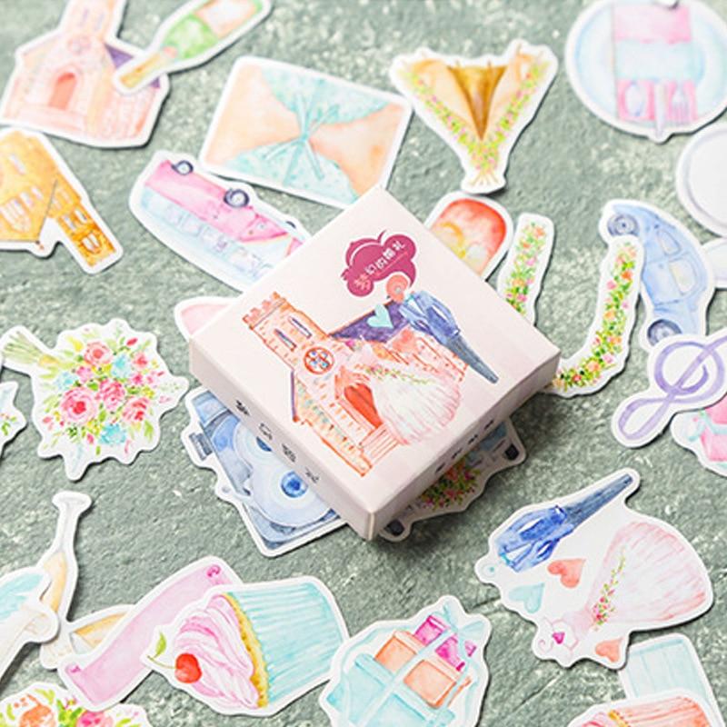 Dream Wedding Bullet Journal Decorative Washi Stickers Scrapbooking Stick Label Diary Stationery Album Stickers