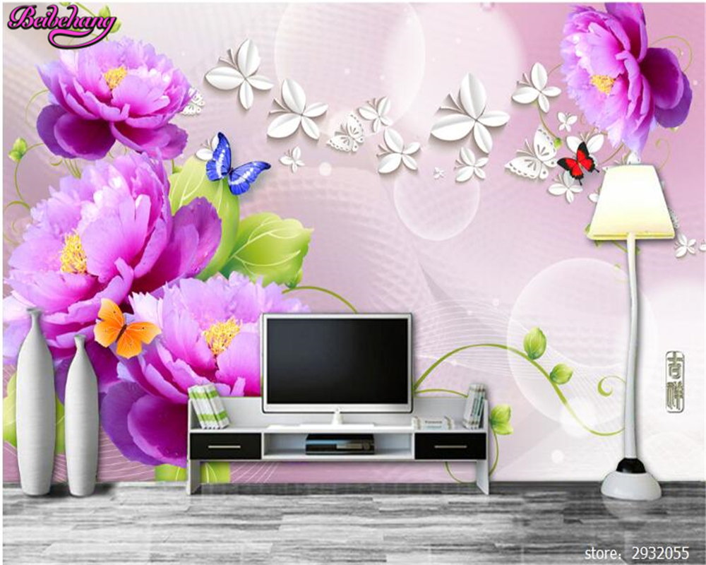 beibehang home decorative wallpaper fantasy silk rose aesthetic  - beibehang home decorative wallpaper fantasy silk rose aesthetic backgroundwall murder papel de parede d wallpaper wall paper in wallpapers fromhome