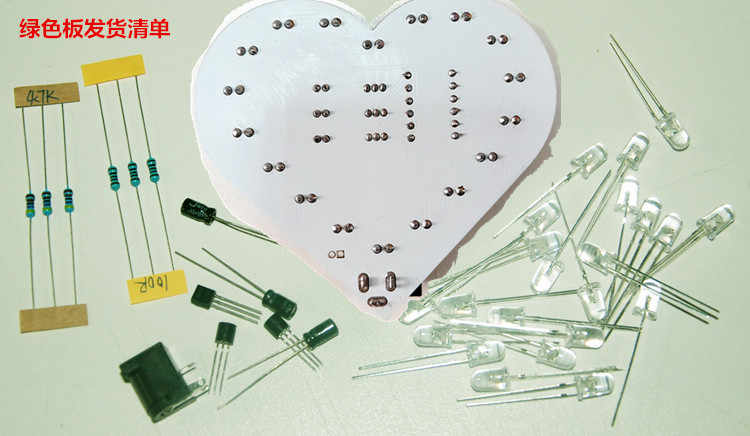 Surprising Detail Feedback Questions About Diy Kit Colorful Heart Shaped Led Wiring 101 Capemaxxcnl