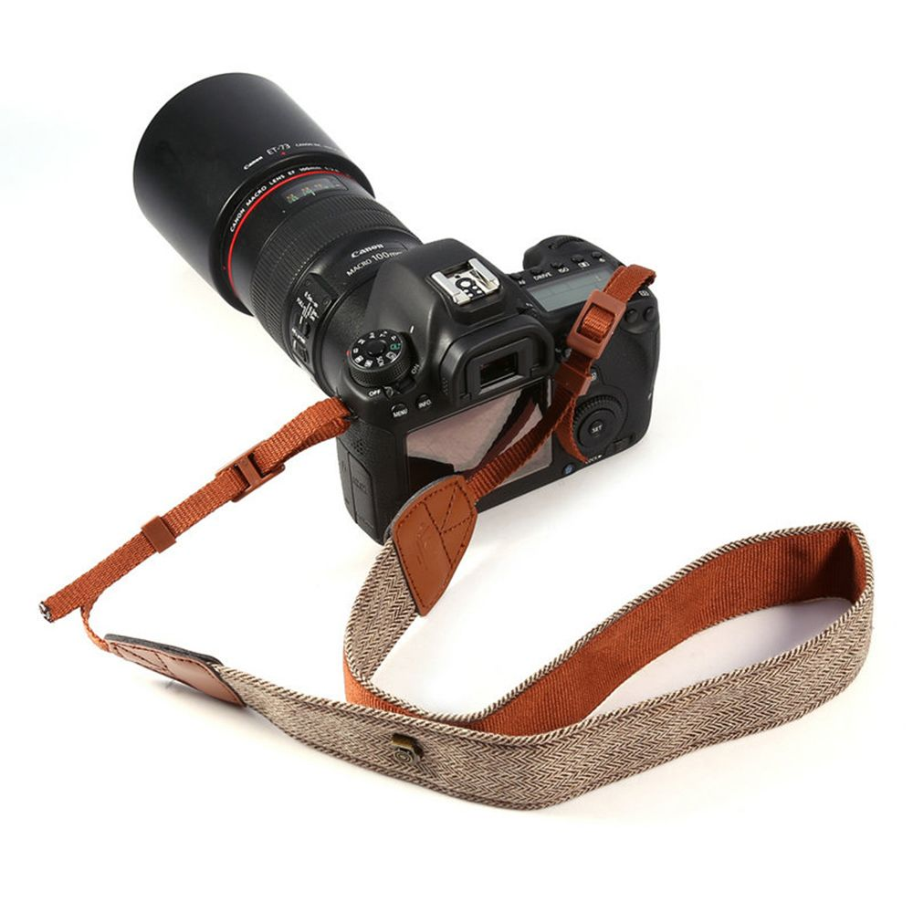 for Nikon 1pcs Elastic Neoprene Camera Neck Strap Belt for Canon Nikon Sony Pentax SLR DSLR Mirrorless Cameras
