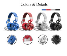 Bluedio T2+ Bluetooth Headphones 5.0 Wireless/Wire Earphone Support FM Radio& SD Card Functions For Music Headset