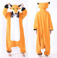 Mr Fox Onesie Adults Men Women Halloween Christmas Carnival Party Fleece Unisex Cosplay Kigu Costumes Jumpsuit