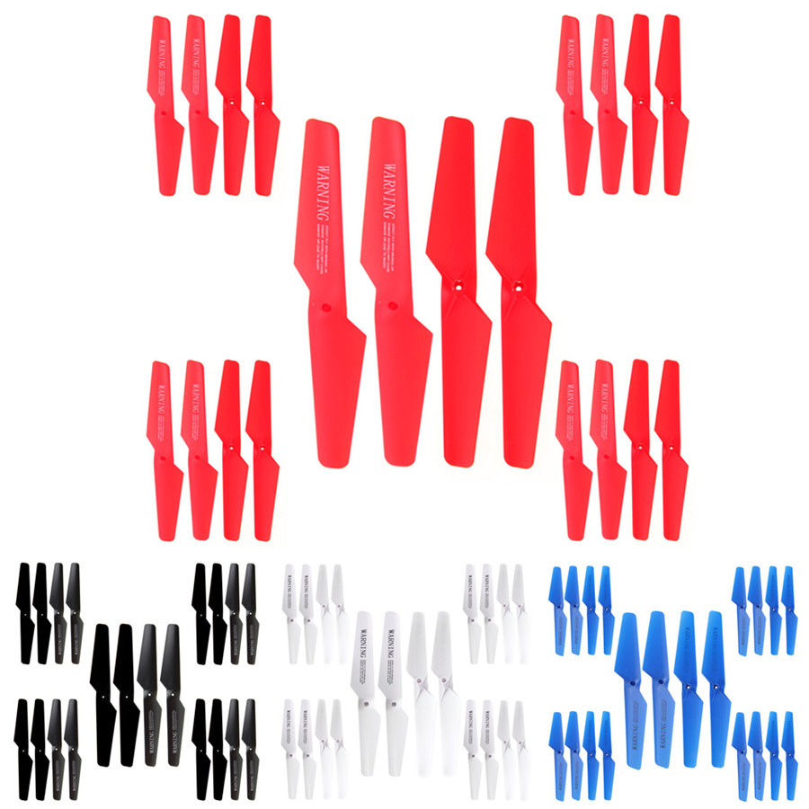 20pcs set for Syma X5 X5C X5SC X5SW Main Blade Propellers Set Spare Parts for Syma