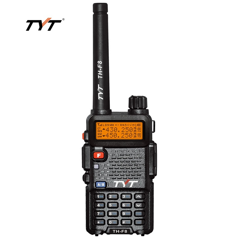 TYT TH-F8 Walkie Talkie color LCD Screen UHF 400-470Mhz Portable Two Way Radio Outdoor Sports Hunting TranseiverTYT TH-F8 Walkie Talkie color LCD Screen UHF 400-470Mhz Portable Two Way Radio Outdoor Sports Hunting Transeiver