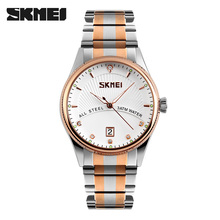 2019 Watches men luxury brand Skmei quartz watch men full steel wristw